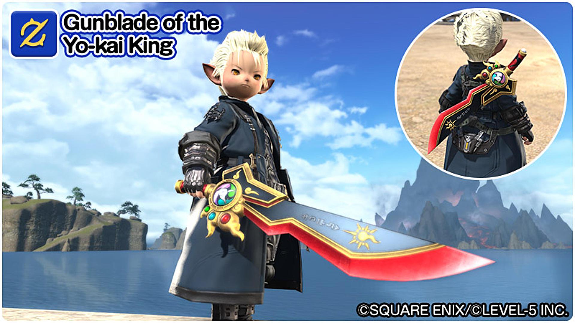 Final Fantasy XIV Gunblade of the Yo-kai King