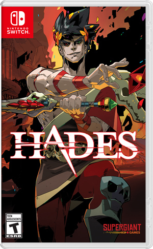 Hades Switch cover featuring Zagreus.