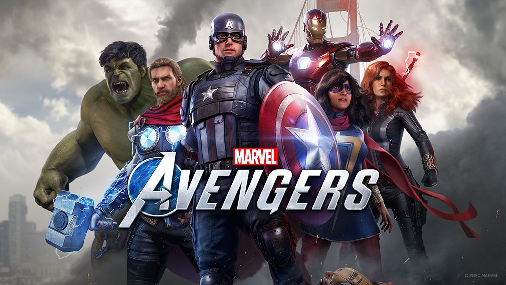 Marvels Avengers Cover Art