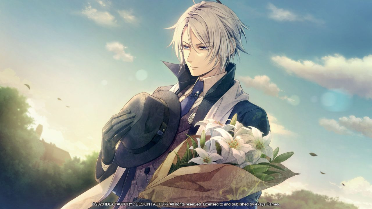 Dante from Piofiore: Fated Memories paying his respects.