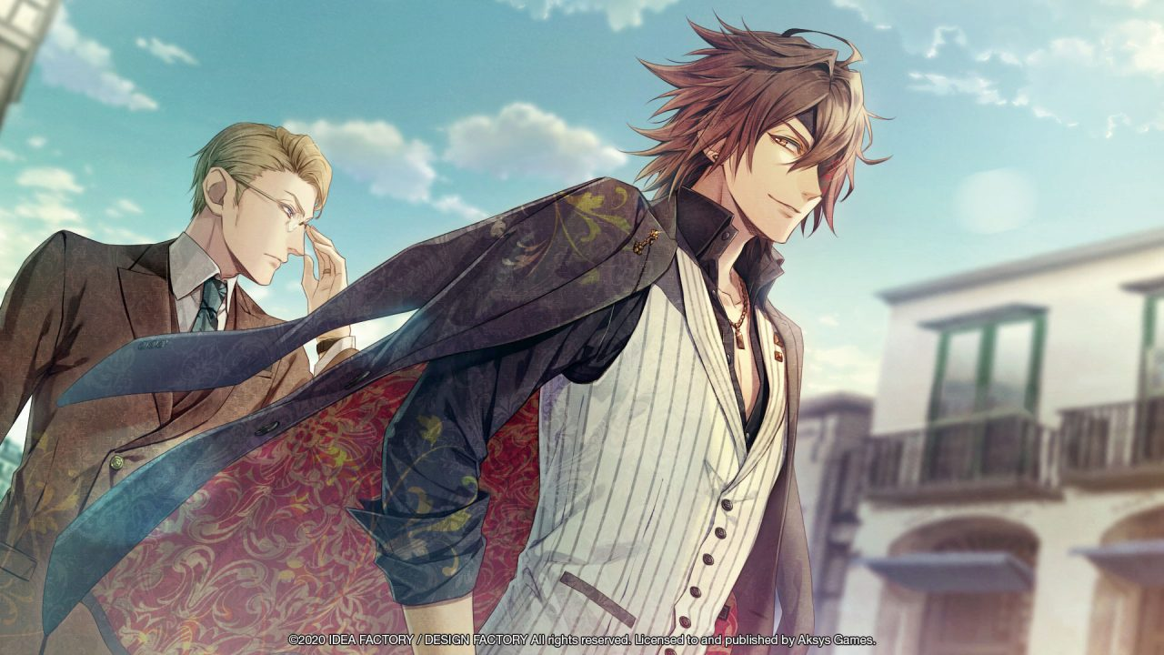 Gilbert and Oliver from Piofiore: Fated Memories.