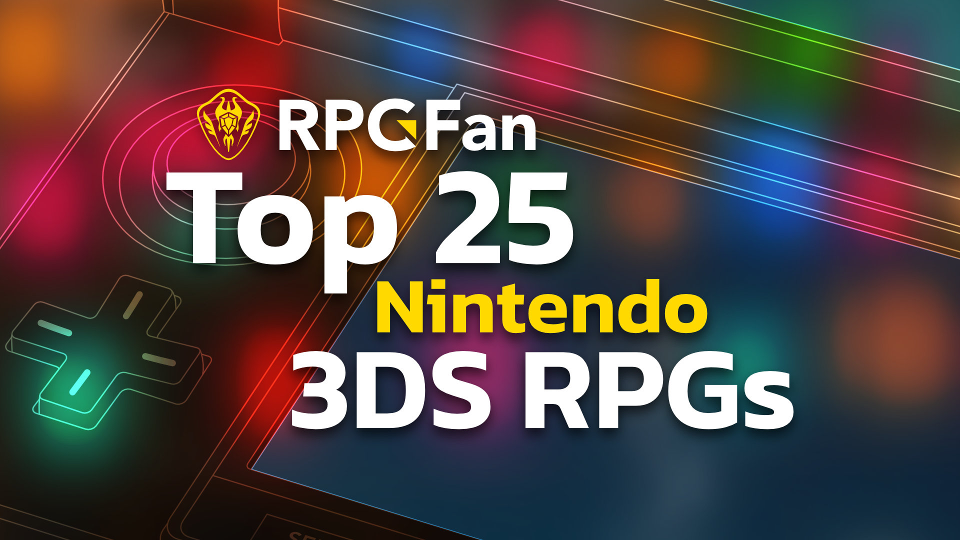 Top 25 3DS RPGs Featured