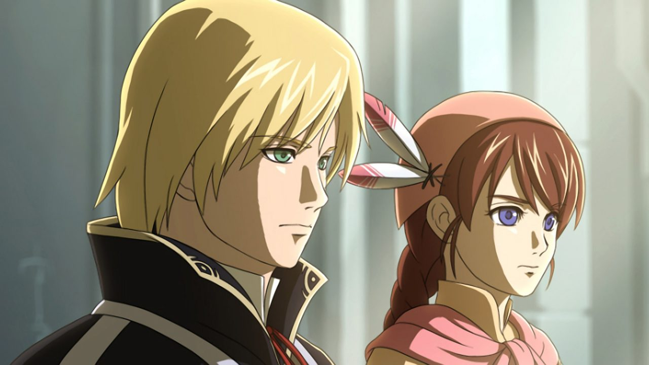 Screenshot of Ys Origin Featuring The Two Main Characters Yunica And Hugo