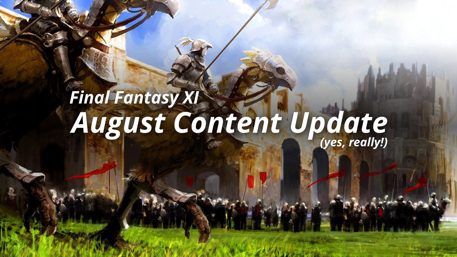 Final Fantasy XI August Content Update Featured Image