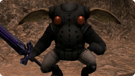 A Gloom Phantom from Final Fantasy XI.