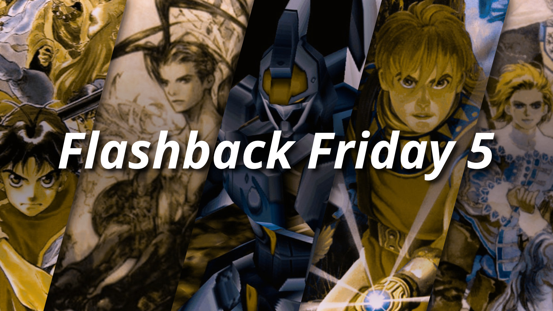 Flashback Friday 5 - PlayStation