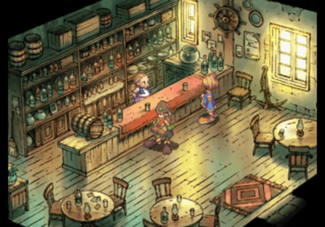 Saga Frontier 2 - Interior of a shop