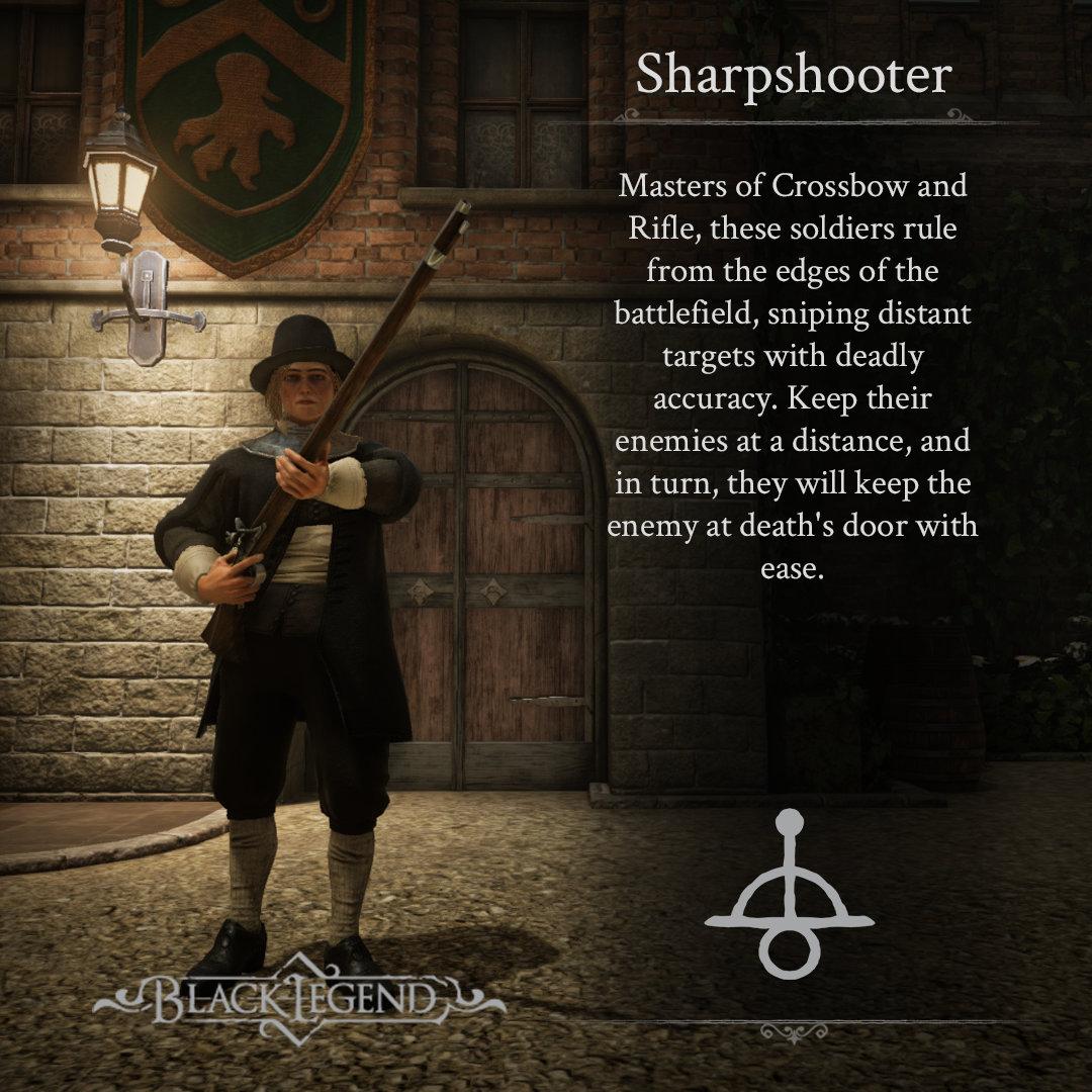 Black Legend Sharpshooter Class