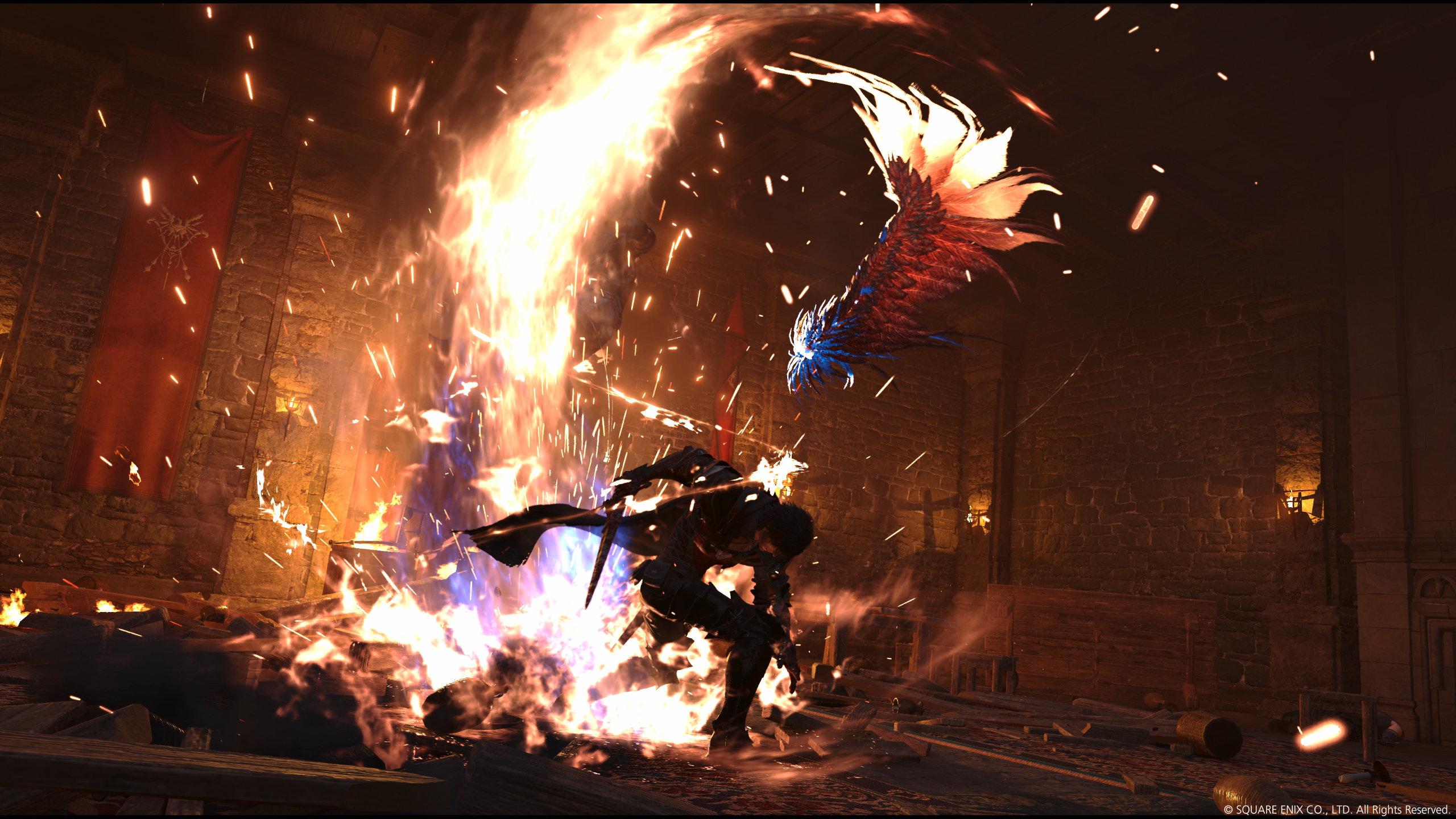 Screenshot From Final Fantasy XVI