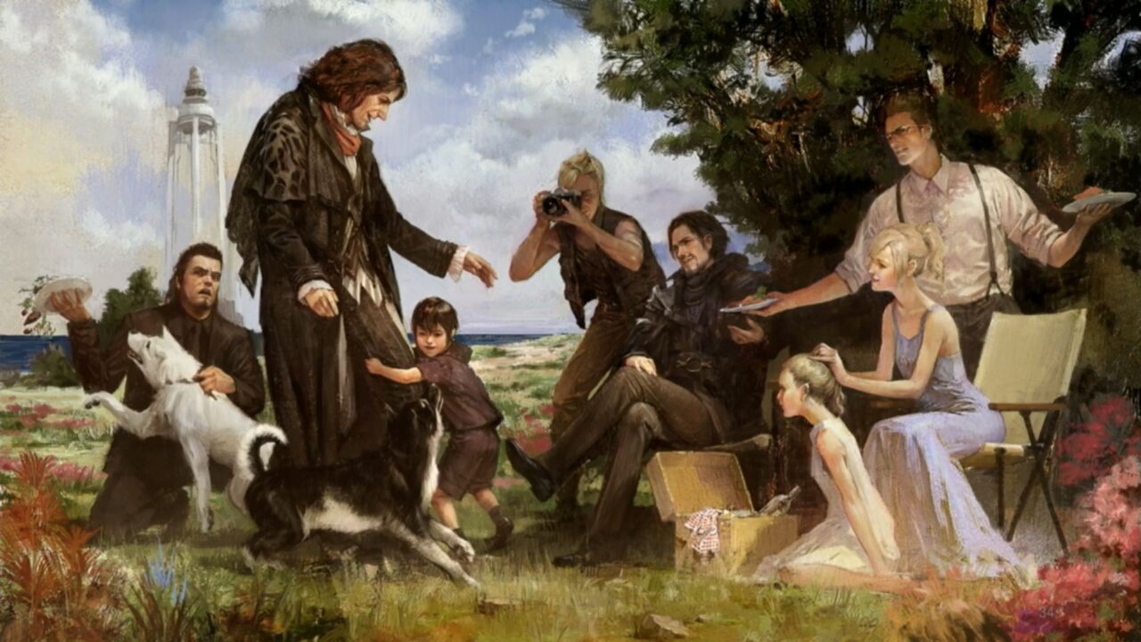 Key Art From Final Fantasy XV Dawn Of The Future DLC