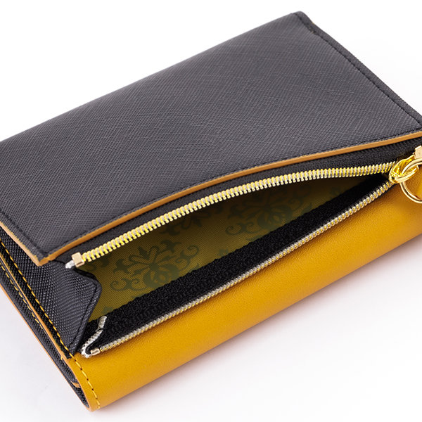 SuperGroupies Fire Emblem Three Houses Black and yellow wallet