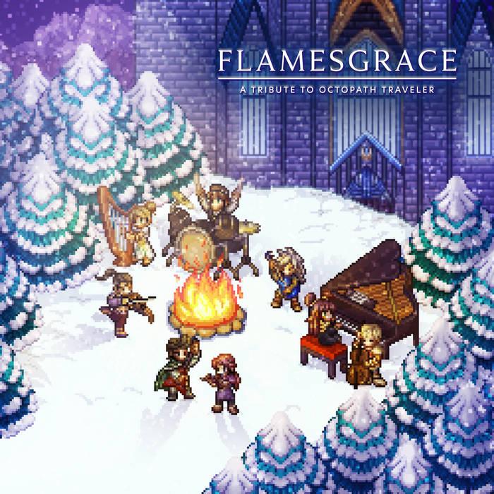 Album Art for Flamesgrace Octopath Traveler Materia Collective Remix Album