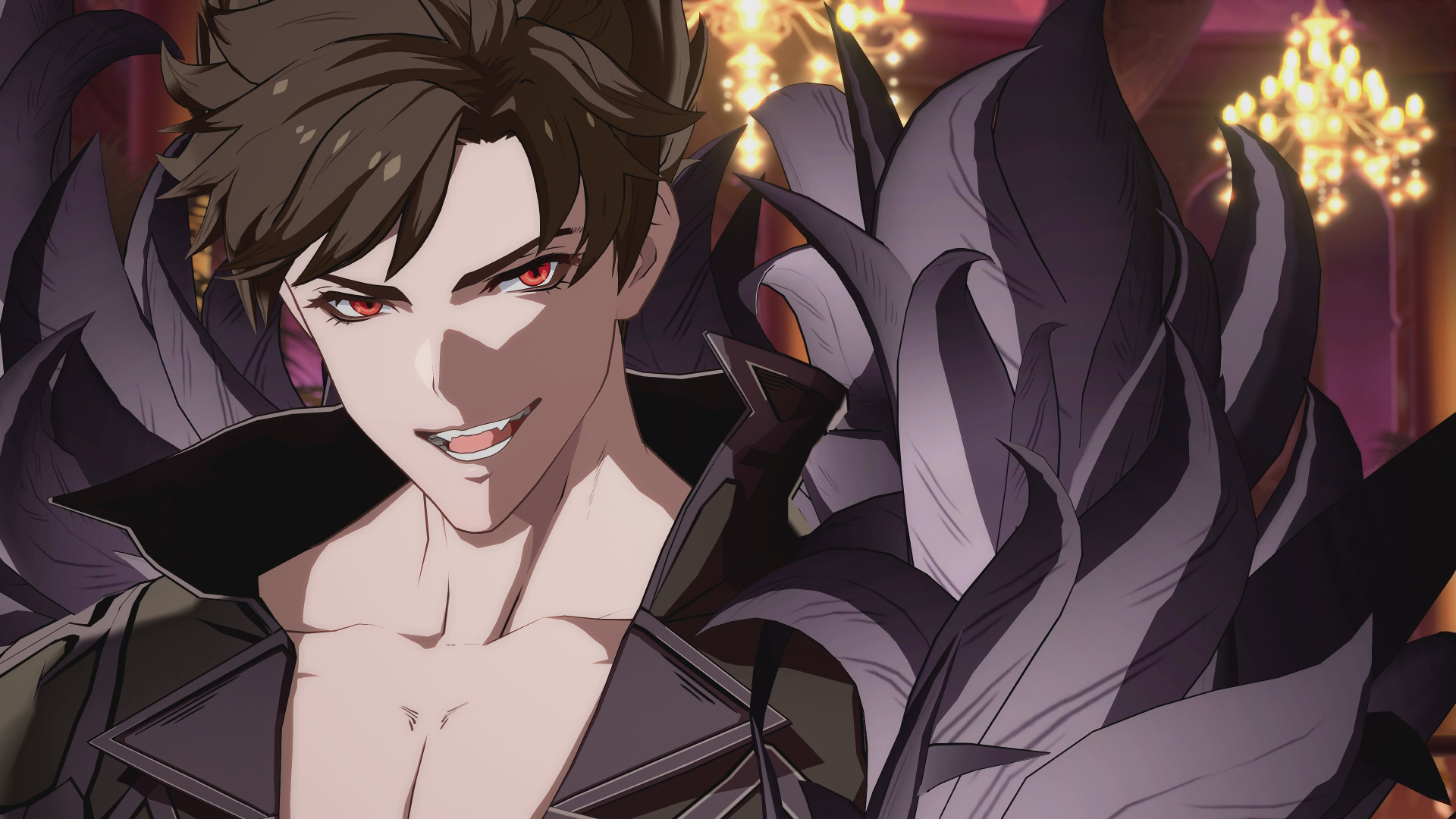 Screenshot Of Belial From Granblue Fantasy Versus