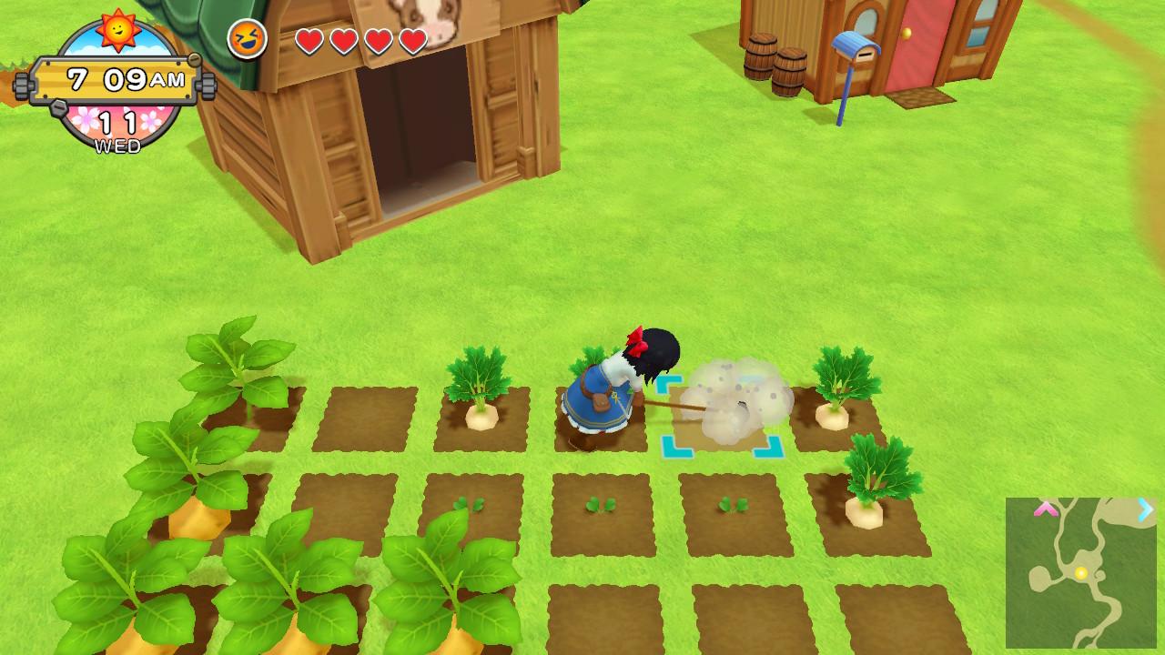 Harvest Moon One World Screenshot