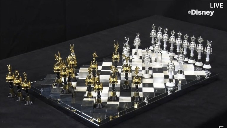 Image Of Kingdom Hearts III Chess Set