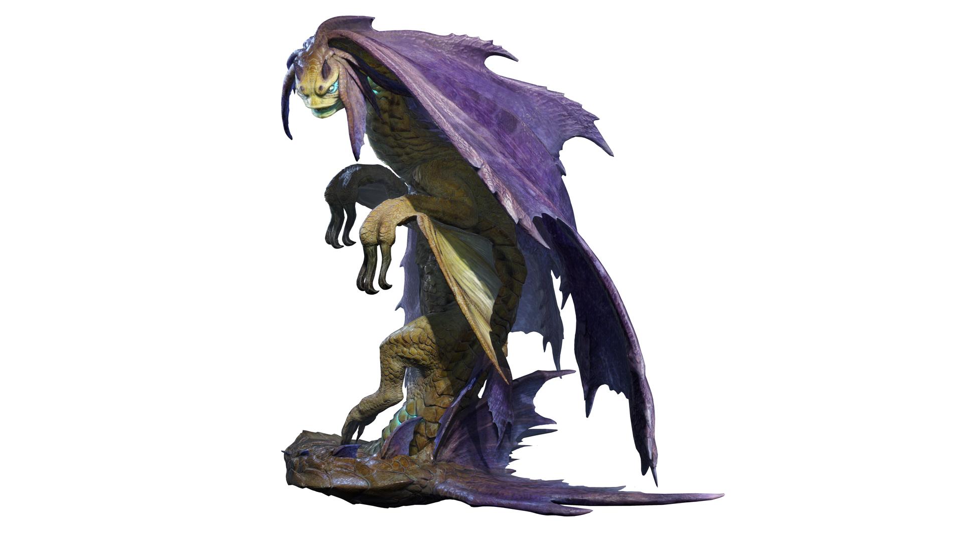 Monster Hunter Rise Artwork Somnacanth