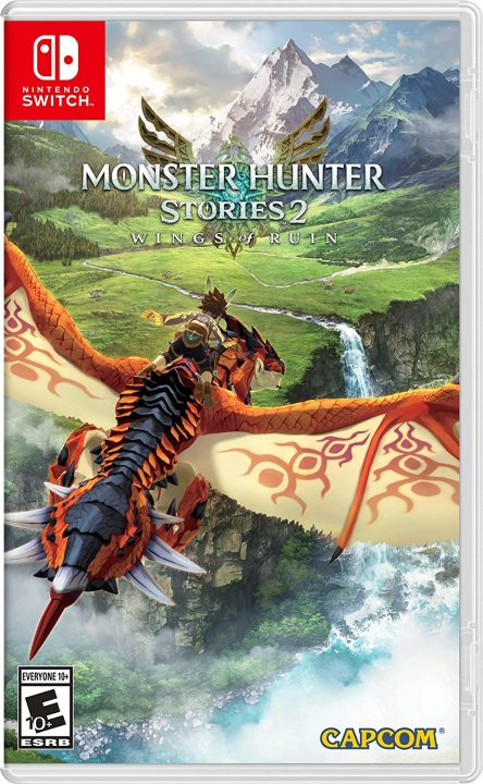 Monster Hunter Stories 2: Wings of Ruin Cover Art (US, Switch)
