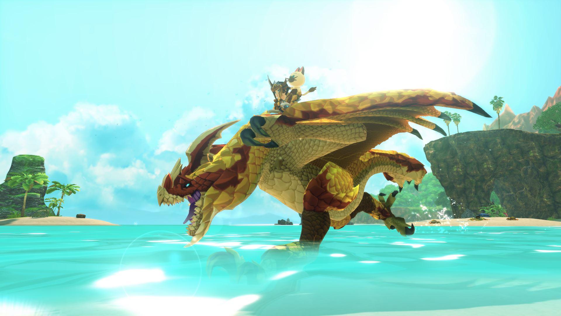 Monster Hunter 2 Wings of Ruin Hero Rides Razewing Rathie