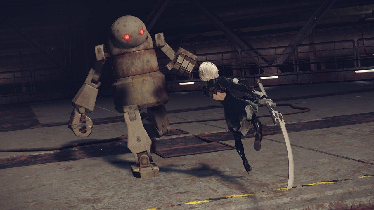Screenshot from Nier: Automata