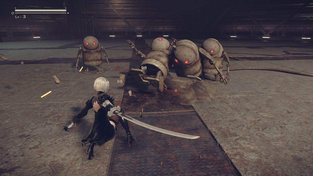 Screenshot of NieR: Automata