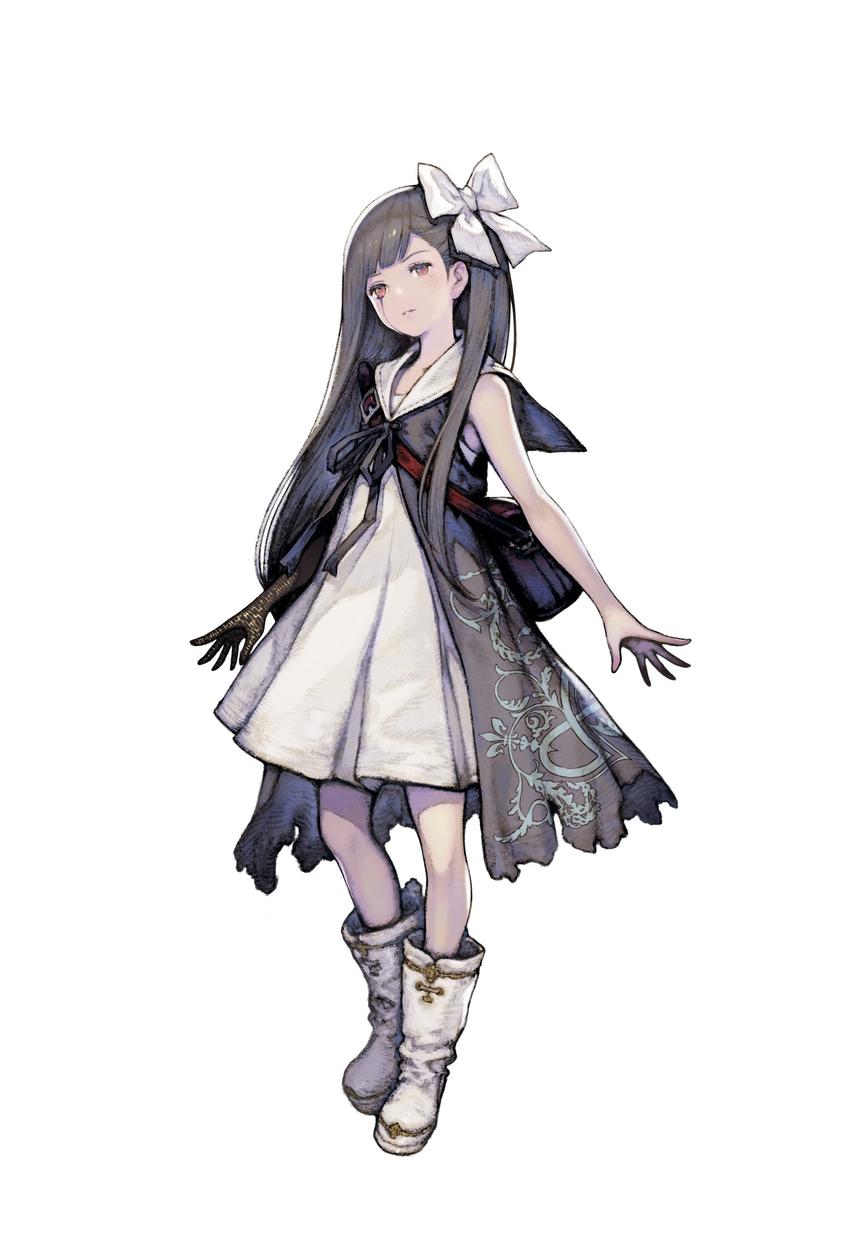 Artwork Of The Little Girl From The Mermaid Episode In NieR Replicant Remake