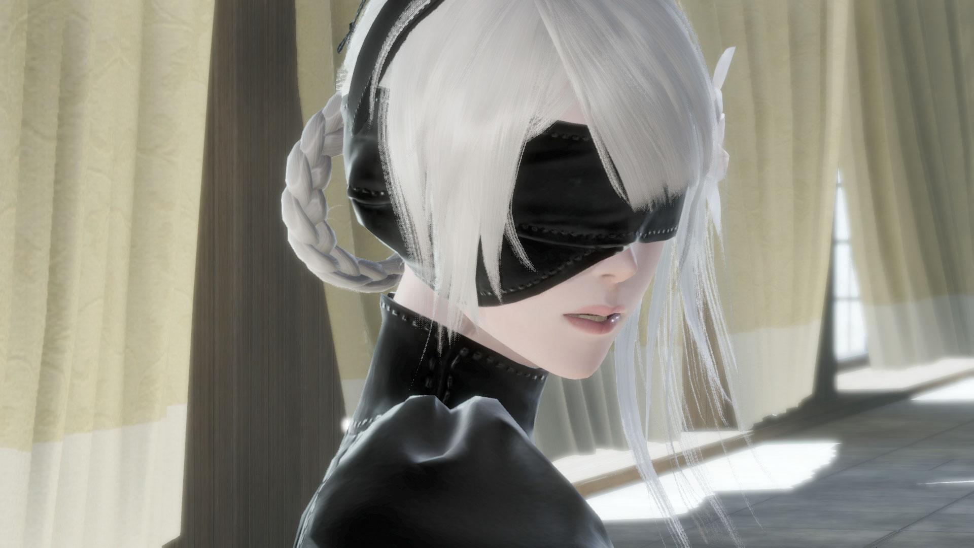Screenshot Of NieR Automata DLC In NieR Replicant Remake