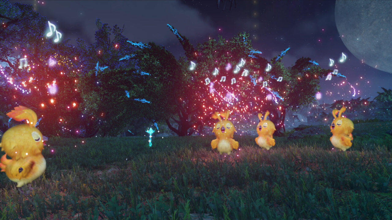Some chick-like characters appear in Phantasy Star Online 2 New Genesis.