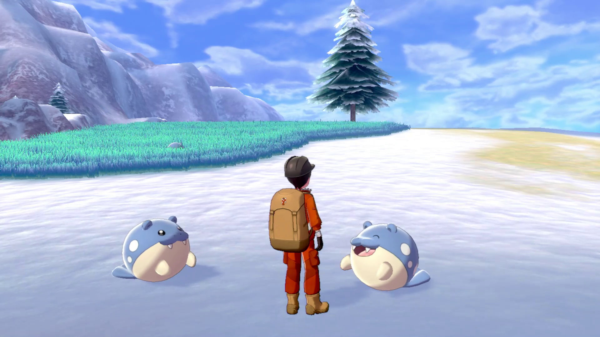 Screenshot From Pokemon Sword And Shield Featuring Spheal, Who Is Objectively The Best Pokemon Sorry Not Sorry I Dont Make The Rules