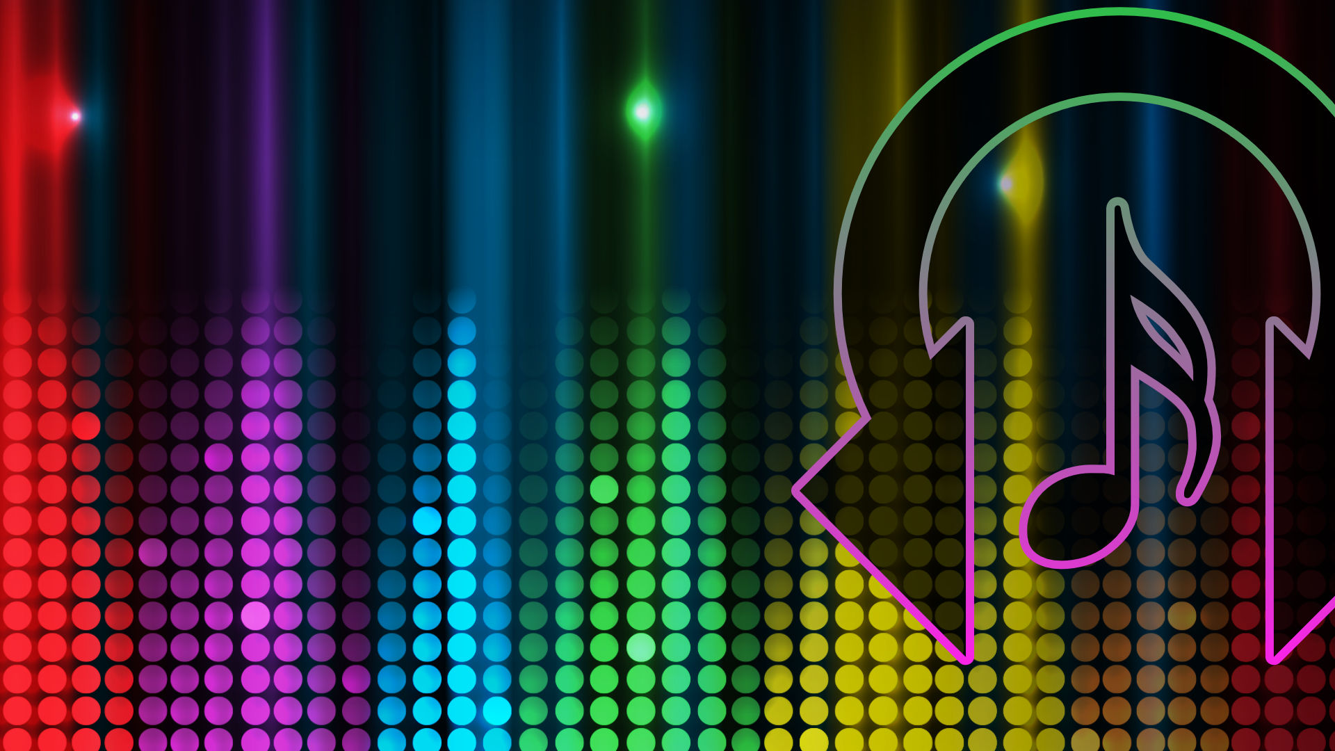 Rhythm Encounter Rainbow Waveform