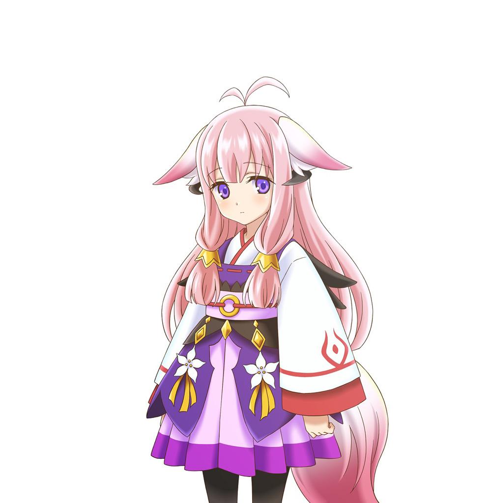 Rune Factory 5 Artwork - Hina