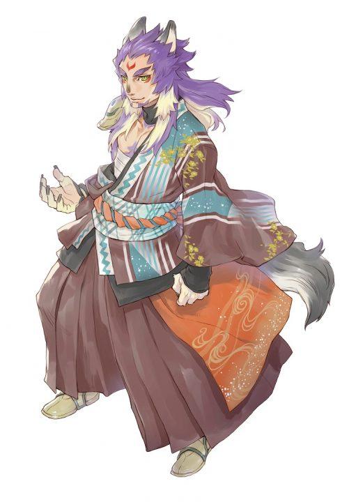 Murakumo The Wereanimal From Rune Factory 5 Artwork