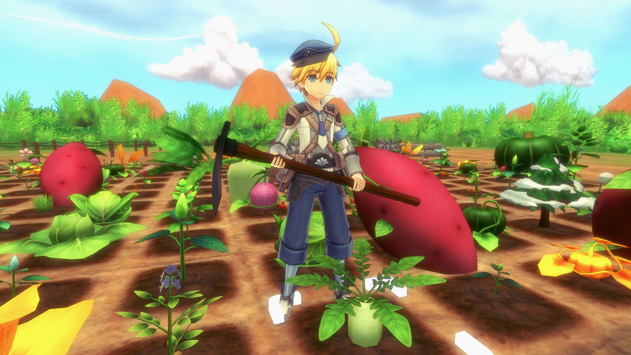 Screenshot From Rune Factory 5 Featuring Farming