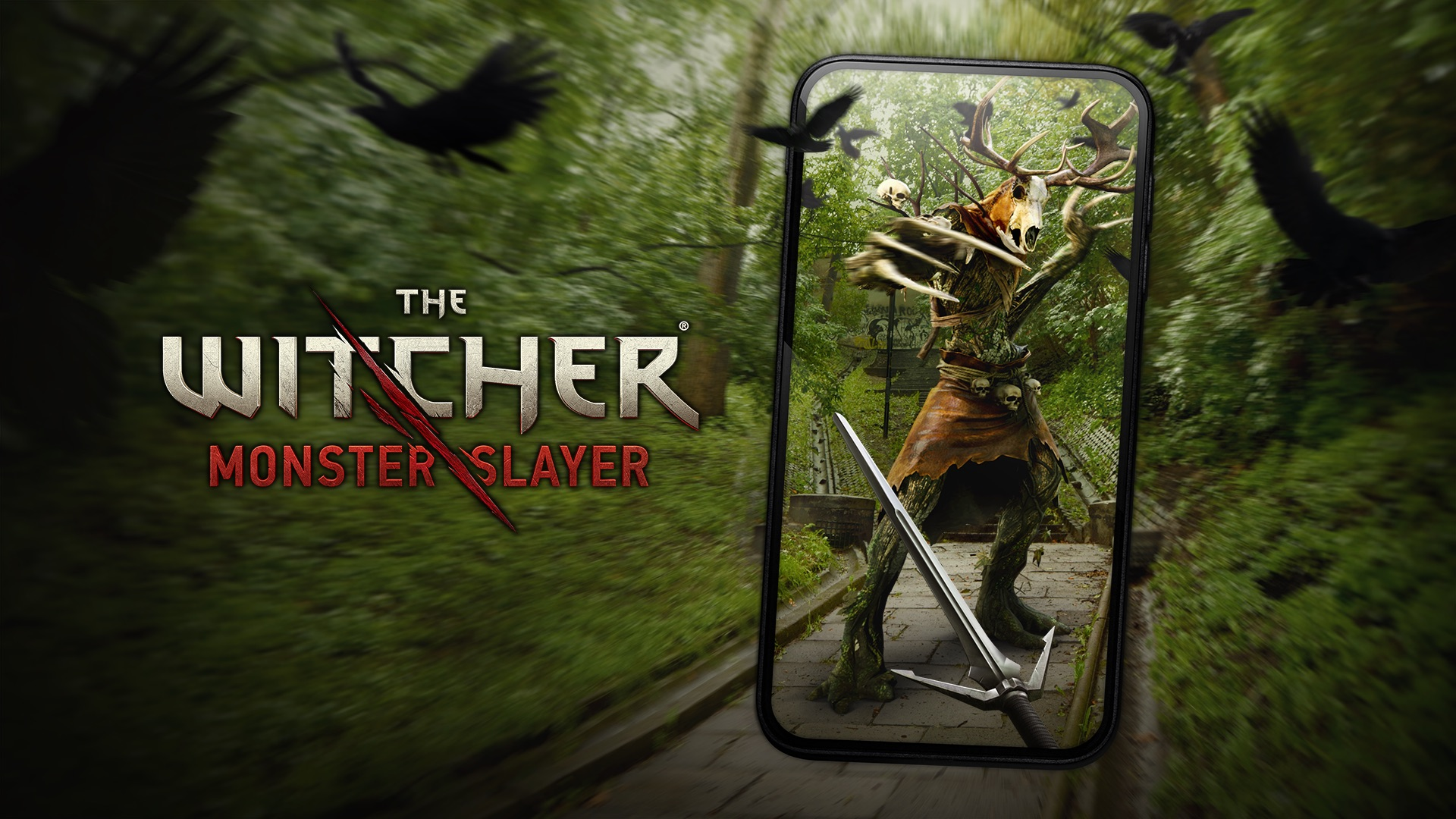 Artwork From The Witcher Monster Slayer AR Game