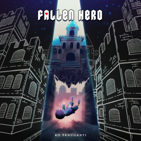 Undertale rock album Fallen Hero cover