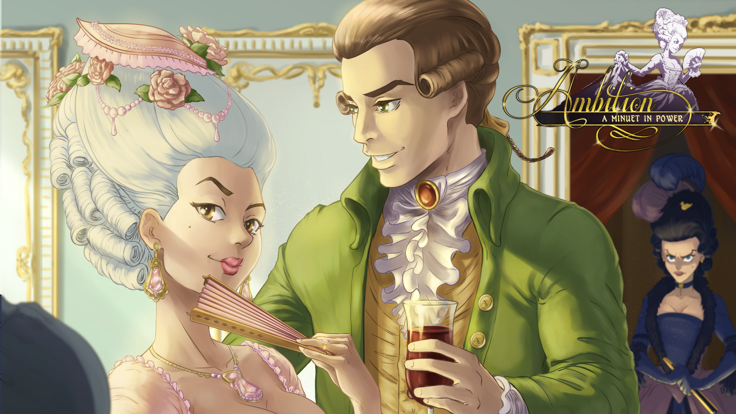 Romance is in the air in Ambition: A Minuet in Power