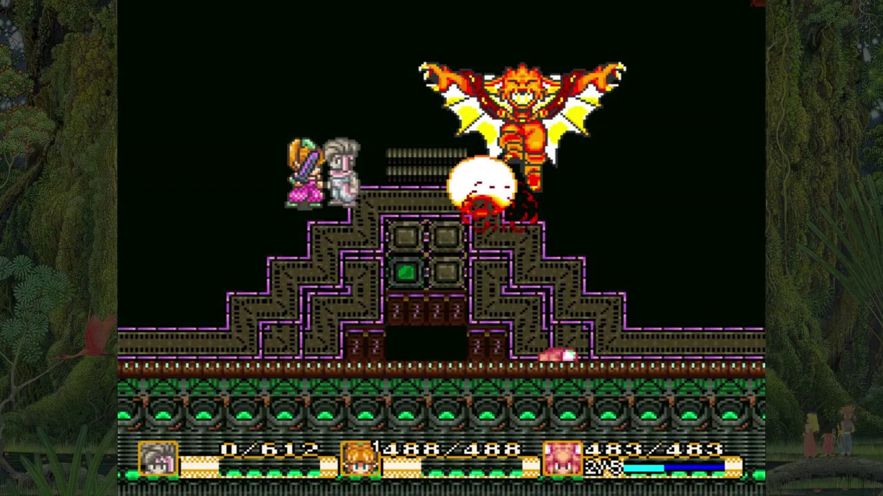 The party faces a vampire with wings.