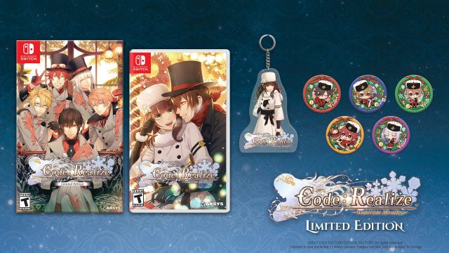 Code Realize Wintertide Miracles Cover Art (Limited Edition)