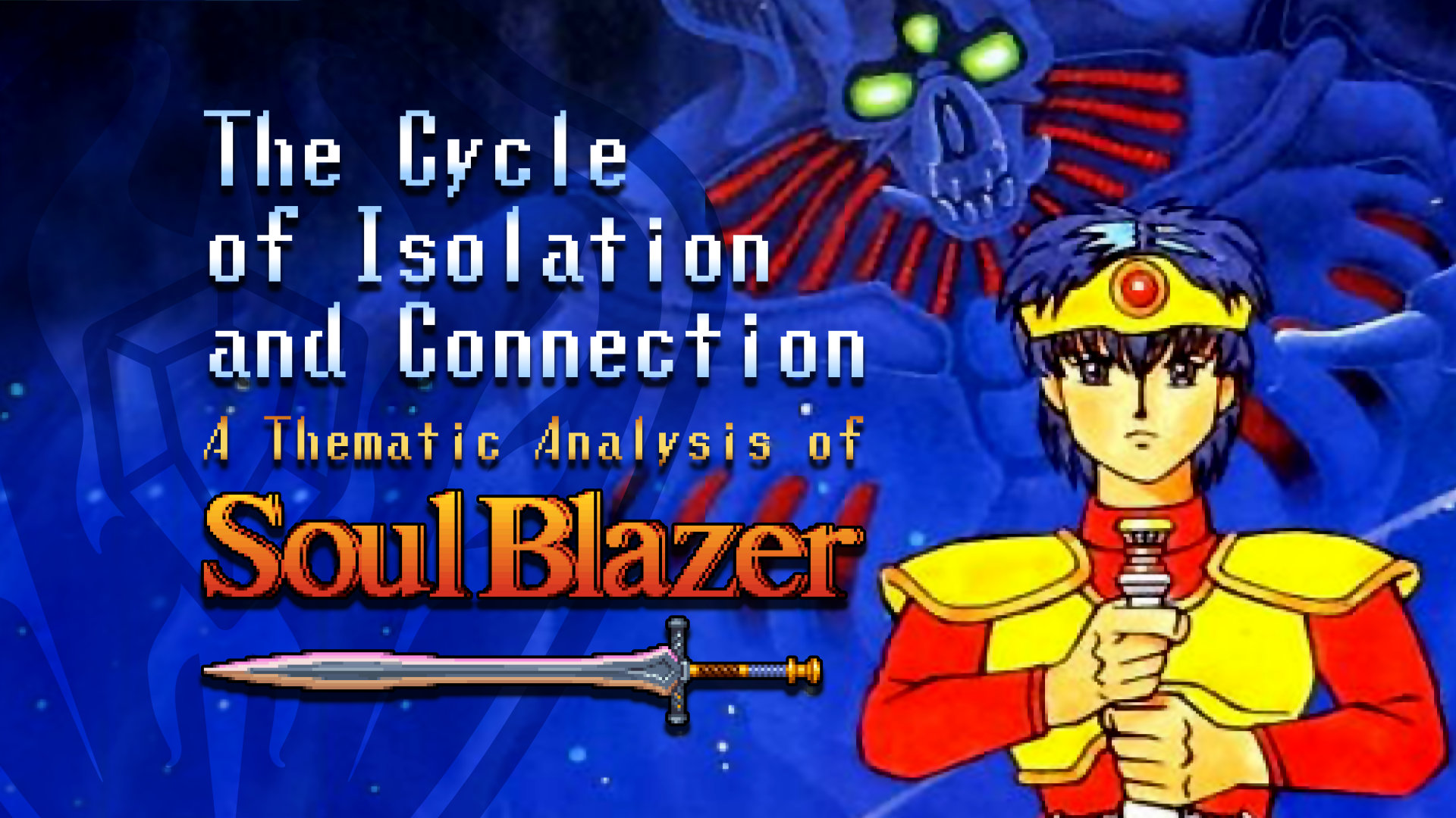 The Cycle of Isolation and Connection A Thematic Analysis of Soul Blazer