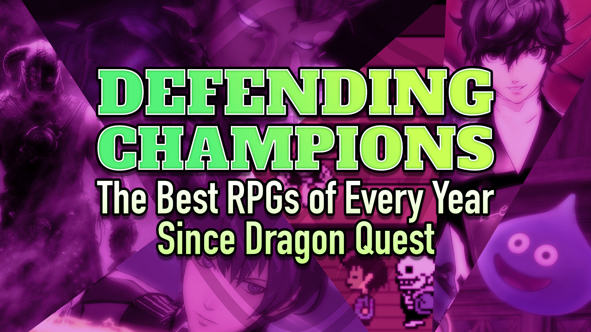 Defending Champions: The Best RPGs of Every Year Since Dragon Quest 2010s