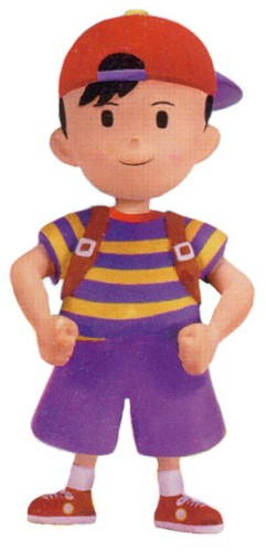 Art of Ness in Earthbound