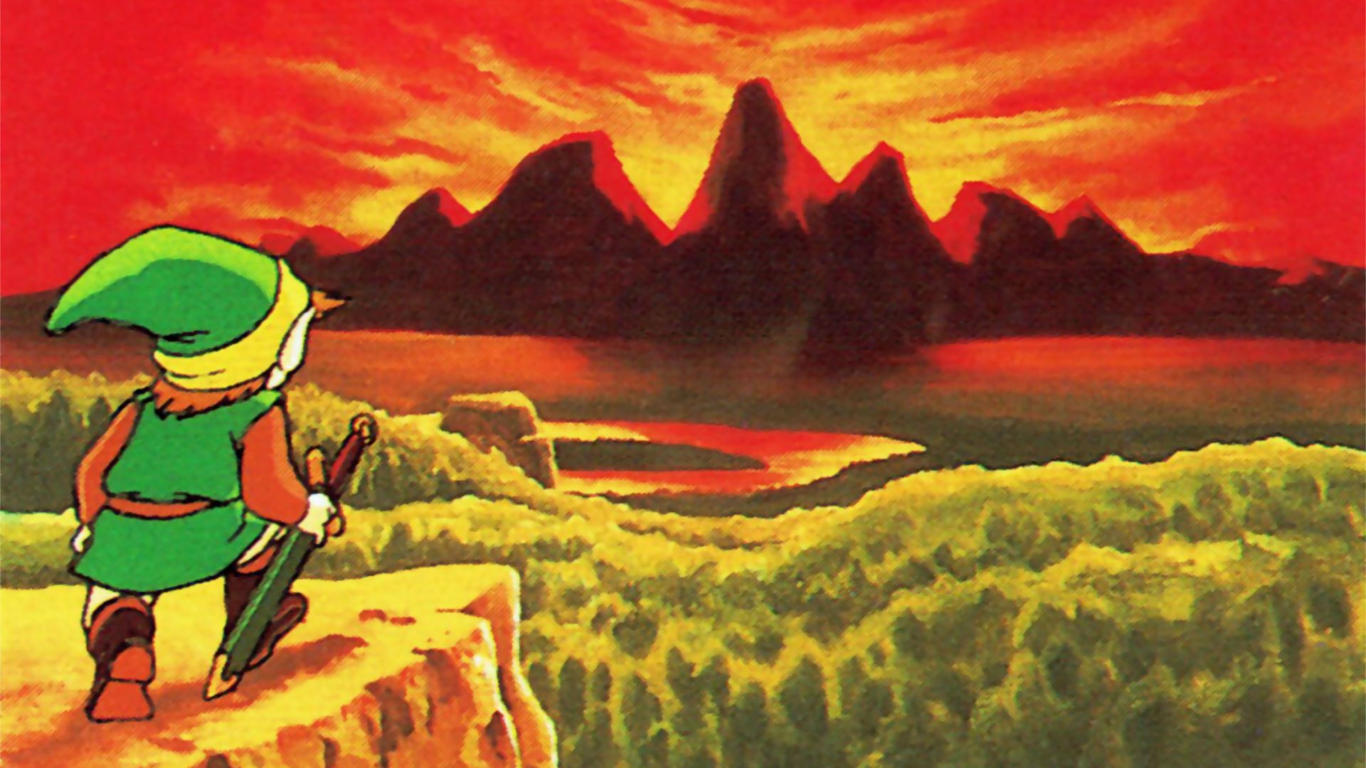 Flashback Friday Toronto 1989 - Original Legend of Zelda Artwork