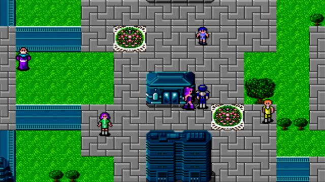 Phantasy Star II Screenshot