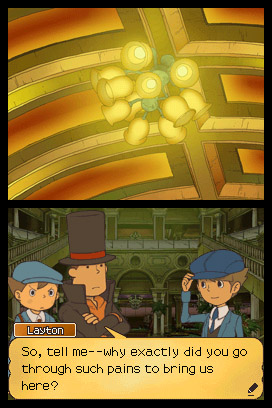 Professor Layton and the Unwound Future Screenshot 002