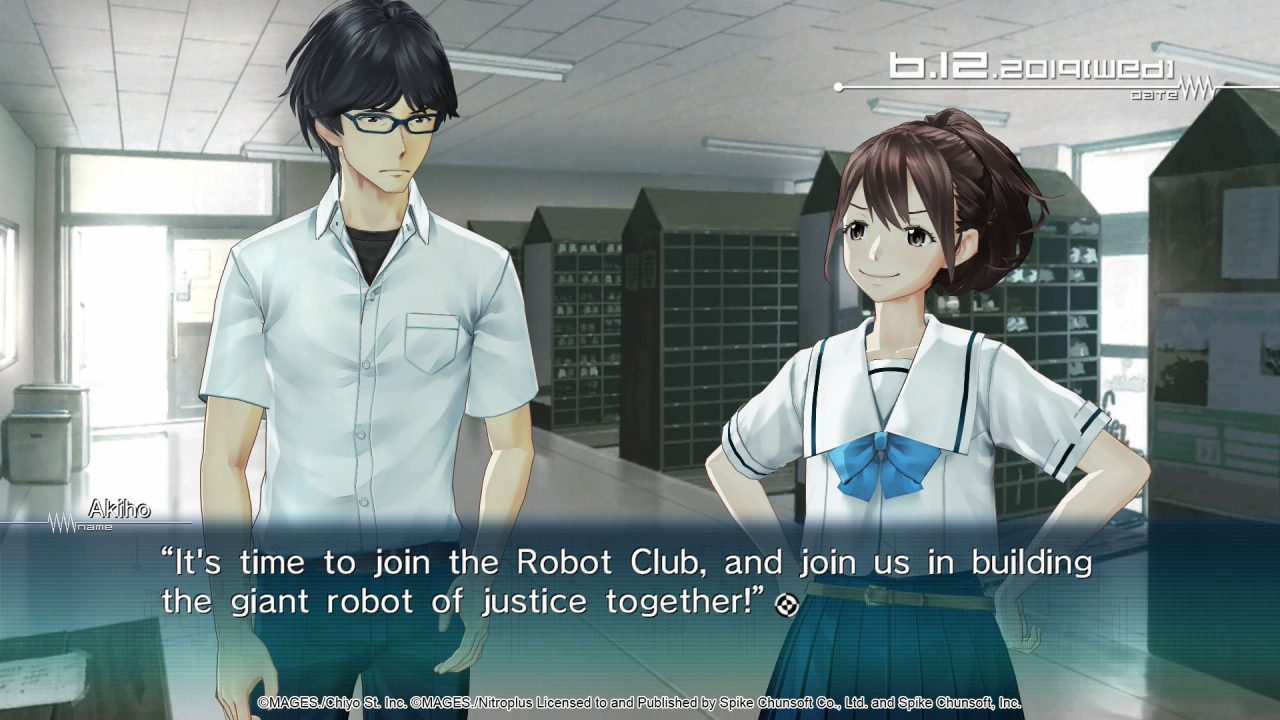 The Robotics team talks in the library and resolves to build a robot of justice together