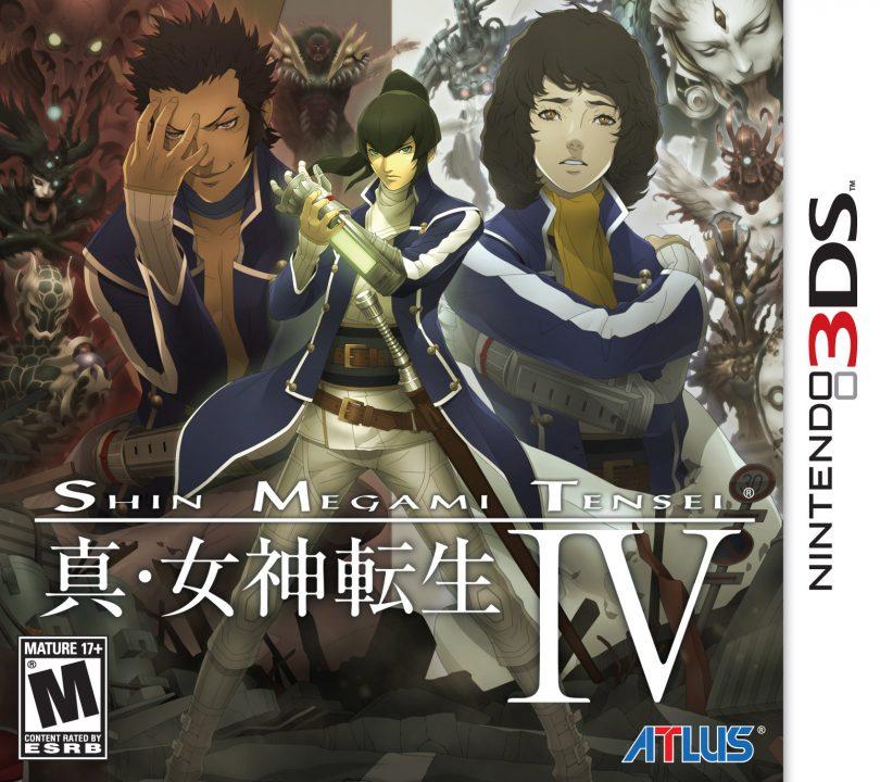 Box art for Shin Megami Tensei IV on the 3DS