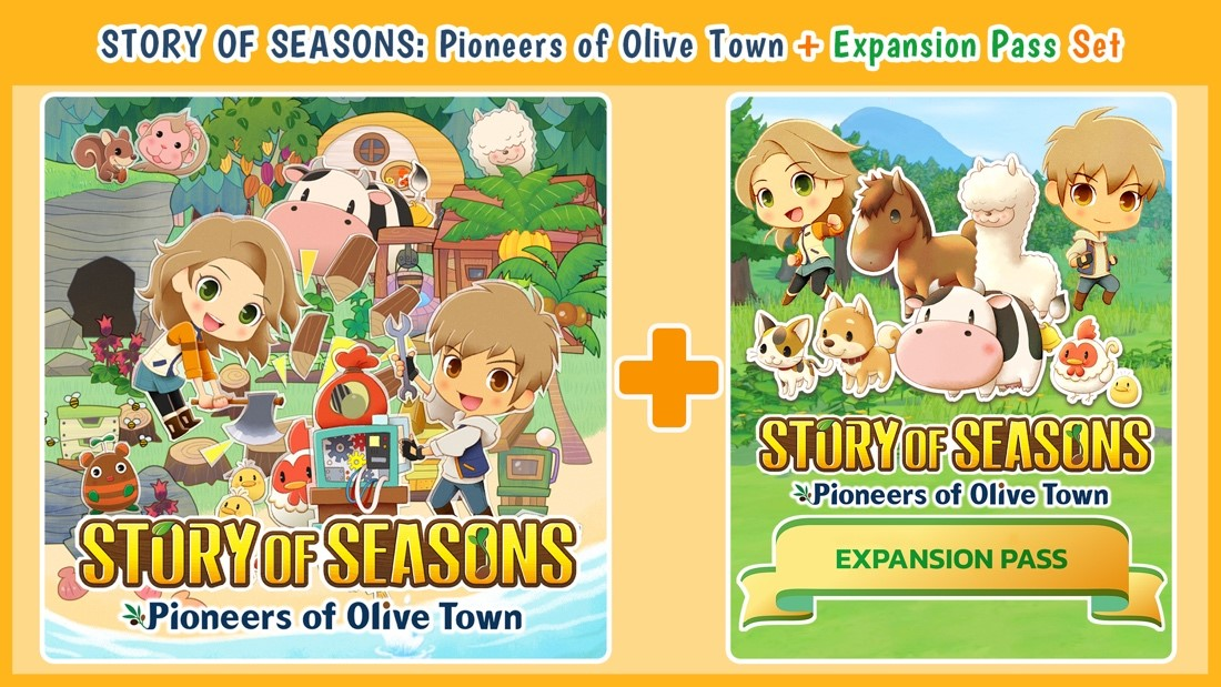 Story of Seasons Pioneers of Olive Town Expansion Pass Promo Art