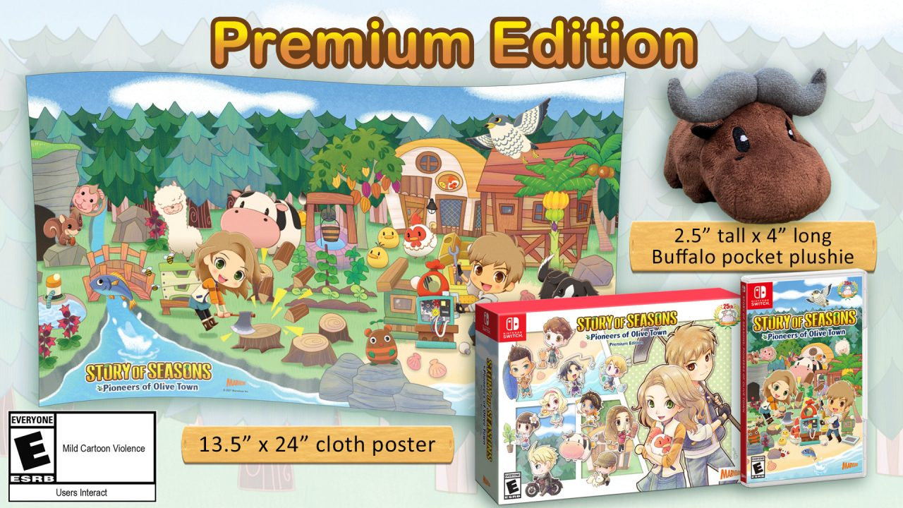 Story of Seasons Pioneers of Olive Town Cover Art (Premium Edition)