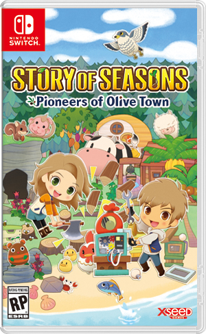 Story of Seasons Pioneers of Olive Town Cover Art