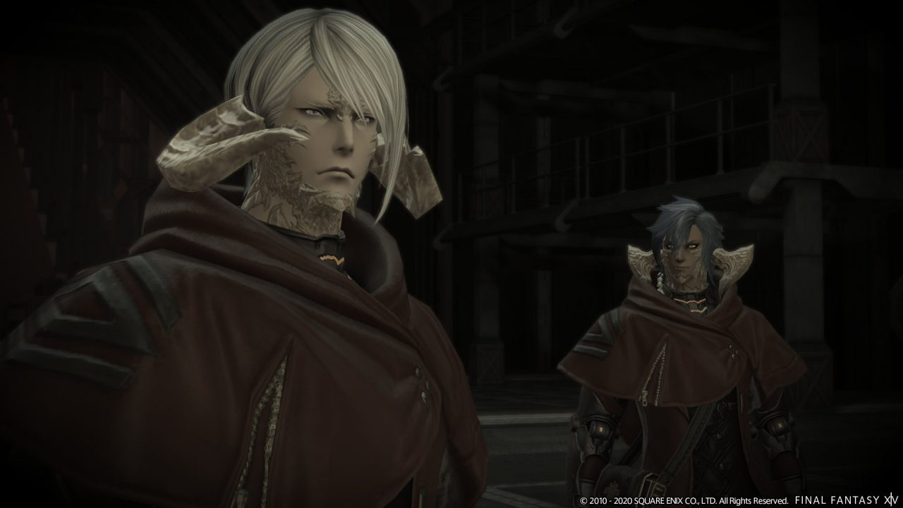 Screenshot From Final Fantasy XIV Featuring Some Au Ra Dude With Horns IDK I Haven't Made It This Far Yet