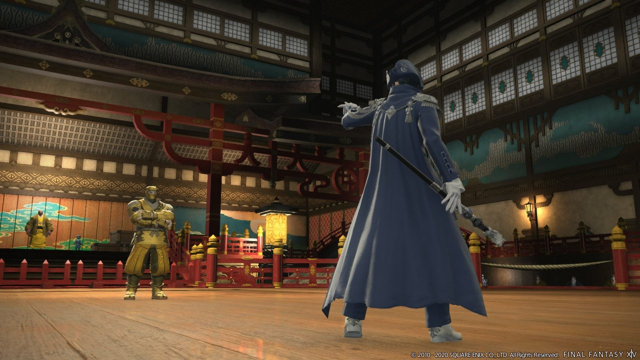 Screenshot From Final Fantasy XIV Shadowbringers Patch 5.4